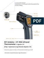 DIY Arduino + GY-906 Infrared Thermometer - Arduino Project Hub