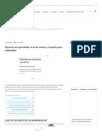 Objetivos de aprendizaje_ lista de verbos y ejemplos para redactarlos.pdf