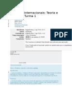 Relações Internacionais Avaliação Final