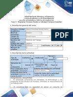Guía de actividades y rubrica de evaluación Fase 3 - Registrar Tiempos Reales y Calcular Tiempos Estándar