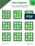 division-puzzlesمربع القسمة
