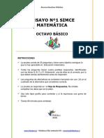 ENSAYO1_SIMCE_MATEMATICA_8BASICO_2010