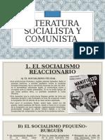 LITERATURA SOCIALISTA Y COMUNISTA
