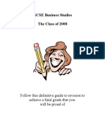 Revision Guide Booklet