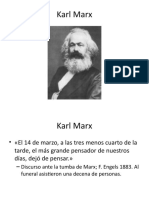 Karl Marx Primera parte
