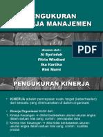 Pengukuran Kinerja Manajemen (Tugas Spm)