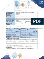Guía de actividades y rubrica  de evaluación - Paso 6 - Compilar el proyecto como evaluación final.docx