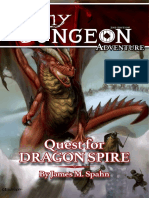 Tiny Dungeon 2e - Adventure - Quest For Dragon Spire