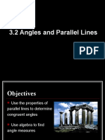 3.2 Angles and Parallel Lines