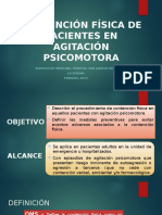 CONTENCIÓN FÍSICA DE PACIENTES EN AGITACIÓN PSICOMOTORA.pptx