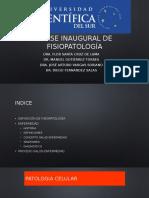 01 - Clase inaugural de fisiopatología
