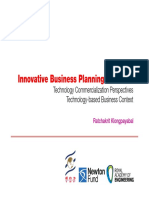 innovative business plan overview