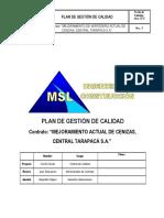 PLAN DE CALIDAD - VERSIÓN 0