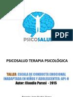 1. ppt - TALLER-ESCALA-API