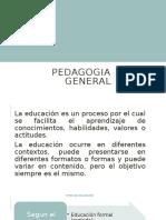 TEMA. TIPOS DE EDUCACION