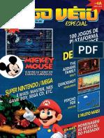 Revista Jogoveio 4 Especial Jogos de Plataforma