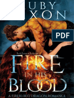 01 Fire In His Blood - Ruby Dixon