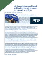 Le DG français du concessionnaire Diamal compare Bouteflika à un parrain et accuse Ouyahia d