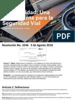 Presentación Resolución cinta reflectiva Agosto 13 2018