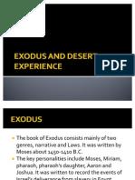 Exodus and Desert Experience