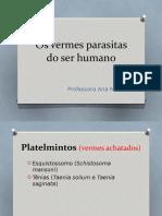 Os vermes parasitas do ser humano.pptx