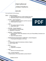 Committees and Agendas (1)