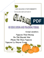Glossary About Education 7d1