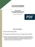 2. Teoria practica Bourdieu