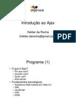 Ajax Conexao Java