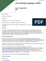 Artificial Intelligence Markup Language, Version 1.0.1