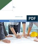 Programa Gestión de la Construcción