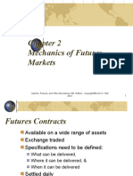 chapter 2 Mechanics of Futures Markets