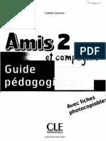 Guide Pédagogique 2 Amis Et Compagnie