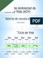 ACV e Li baterias