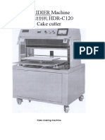 HDR Cake Slicer Instruction