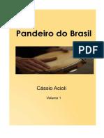 Cassio Acioli livro de Pandeiro do Brasil