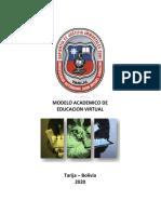 Plan de contingencia Covid 19 federacion de docentes UAJMS