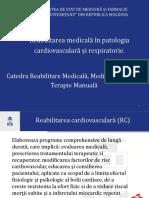 Reabilitarea medicala in patologia cardiovasculara si respiratorie