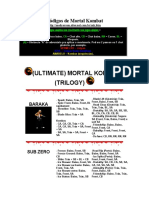 Golpes de Mortal Kombat