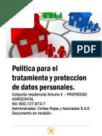 PROPUESTA PARA POLITICA DE DATOS POR INTEGRAL .pdf