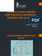 Lupu Ionut - Câmpul protetic edentat total maxilar și mandibular