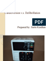 Cardioversion and Defib