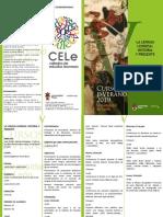 Curso verano 2019 CELe