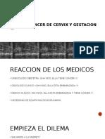 CANCER CX Y GESTACION