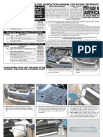 06 Up Chevy Impala Grille Installation Manual Carid