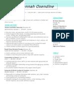 microsoft word - oxendine resume2
