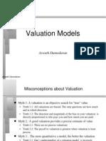 valuation models