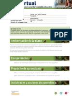 Guía de planificación de clases Geodesia y Cartografia