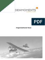 Interim report 2 Organisational Scan VOORBEELD