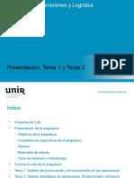 10 Marzo Presentación + Temas 1 y 2